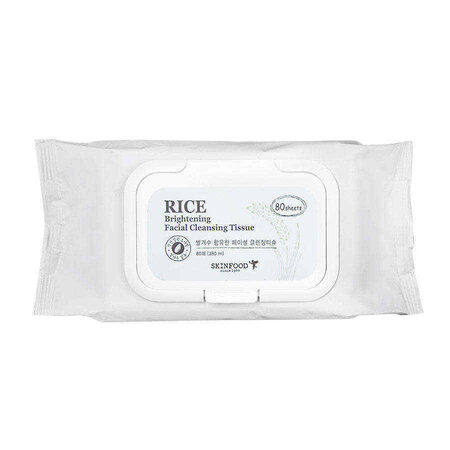 Skinfood Rice Brightening Facial Cleansing Tissue